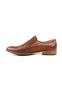 Braune Slip-On-Schuhe