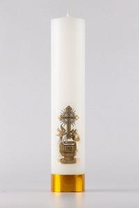 Taufe - Altar-Kerze [CH3]