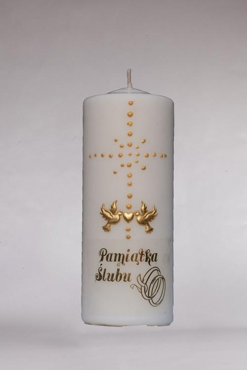 Hochzeit - Kerze [Ś4]