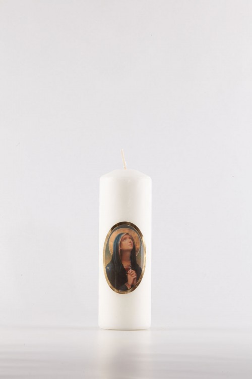 Festliche Kerze [Os-10]