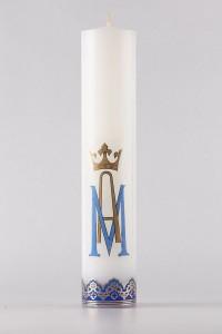 Die Altarkerze der Maria [O-17]