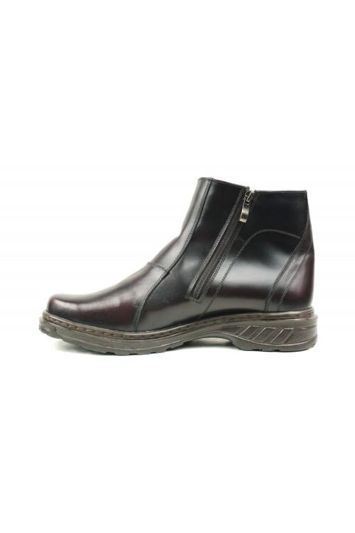 Warme schwarzbraune Stiefel...