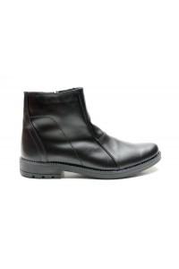 Schwarze Stiefel mit...
