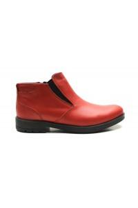 Rote Jodhpur-Stiefel für...