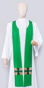 Grüne Stolen - Stolen - LiturgischeKleidung.de
