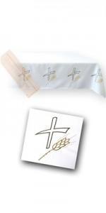 Altardecken mit Stickereien - Altardecken - LiturgischeKleidung.de