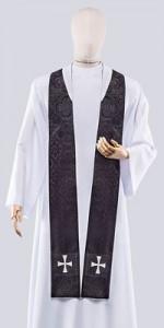 Schwarze Stolen - Stolen - LiturgischeKleidung.de