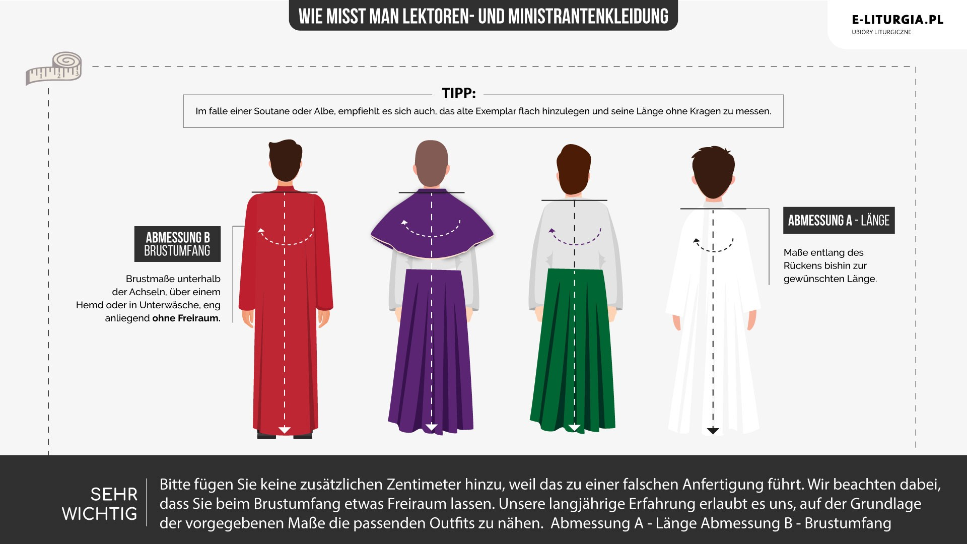 Lektorzy i ministranci (spódnice)